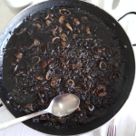 Arroz negro con maganitos