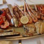 parrillada mixta de pescado
